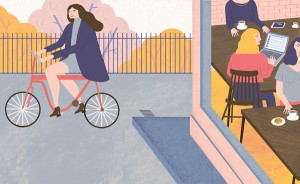 Characters and Pastel Hues in Illustrations by Sarah Clifford