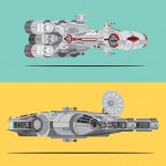 Sci-Fi Celebrations in Detailed Vector Designs by Scott Park